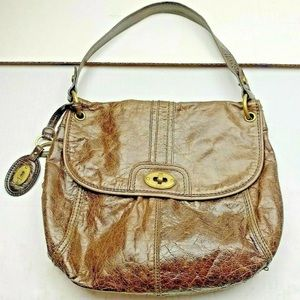 Fossil Long Live Vintage Purse Weathered Leather